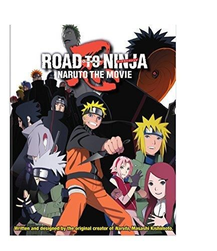 Naruto Shippuden Road to Ninja the Movie 6 Combo Pack (Blu-ray  DVD)