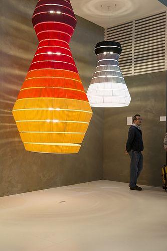 Euroluce 2013 - ISALONI 2013  photo by Annalisa Cimmino  http://www.cosmit.it  #isaloni #euroluce  #light #design #forniture