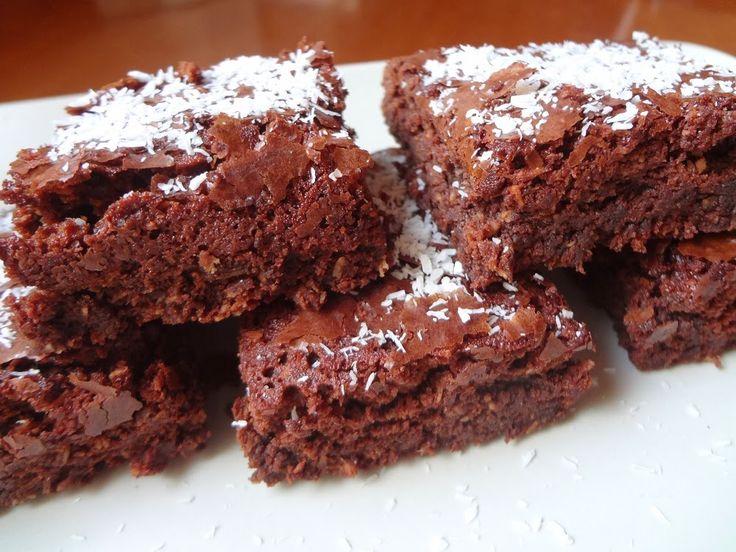 Σοκολατένιο brownies με καρύδα | Olga'scuisine.gr