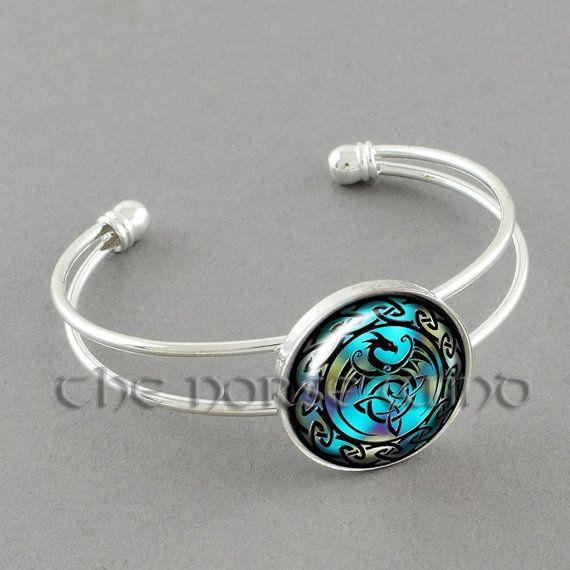 Keltischer Knoten Armband Keltischer Drache von TheNorseWind