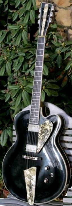 Nick Park Guitars Radio archtop Guitar --- https://www.pinterest.com/lardyfatboy/