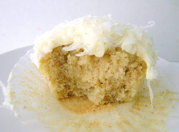 Lemon Myrtle And Coconut Cupcakes