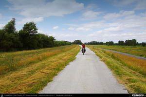 Traseu cu bicicleta MTB XC Bratislava - Horny Bar - Medvedov - Gyor : EuroVelo 6 - 2 . MTB Ride EuroVelo 6 - 2: Bratislava - Horny Bar - Medvedov - Gyor - Bratislava - Trnava, Slovacia