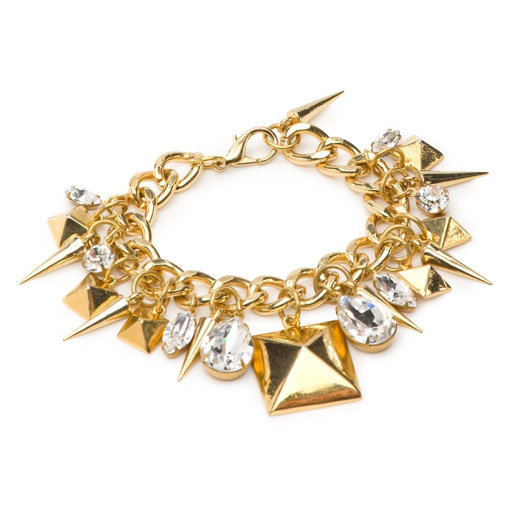 Fallon Stud Charm Bracelet - eBay Holiday Collective