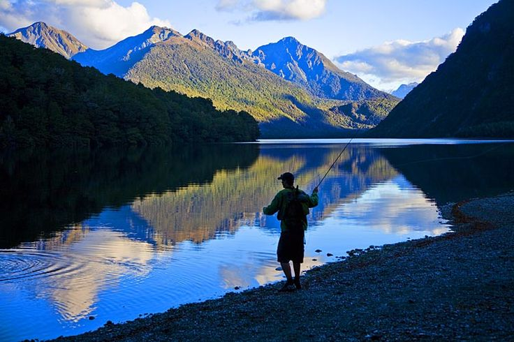 Lake Gunn, on the way to Milford Sound, see more, learn more, at New Zealand Journeys app for iPad www.gopix.co.nz