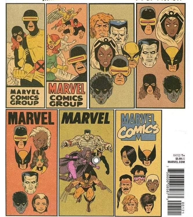 X Men Grand Design Variant Covers By Ed Piskor In 2020 Concept Art Sketches Comics