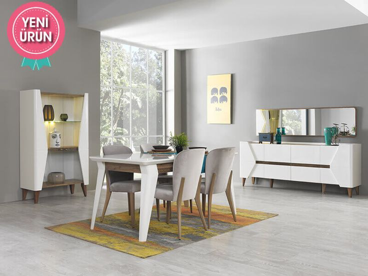 Riga Modern Yemek Odası sadeliğini ve şıklığını evinize yansıtıyor!     #Modern #Furniture #Mobilya #Pırlanta #Yemek #Odası #Sönmez #Home #EnGüzelAnlara #YeniSezon #Praga #YemekOdası #Home #HomeDesign  #Design #Decoration #Ev #Evlilik #Wedding #Çeyiz #Konfor #Rahat #Renk #Salon #Mobilya #Çeyiz  #Kumaş #Stil #Tasarım #Furniture #Tarz #Dekorasyon #Vitrin