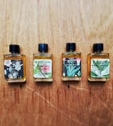 Mini Perfume Sampler by Hi Wildflower Botanica on Scoutmob Shoppe