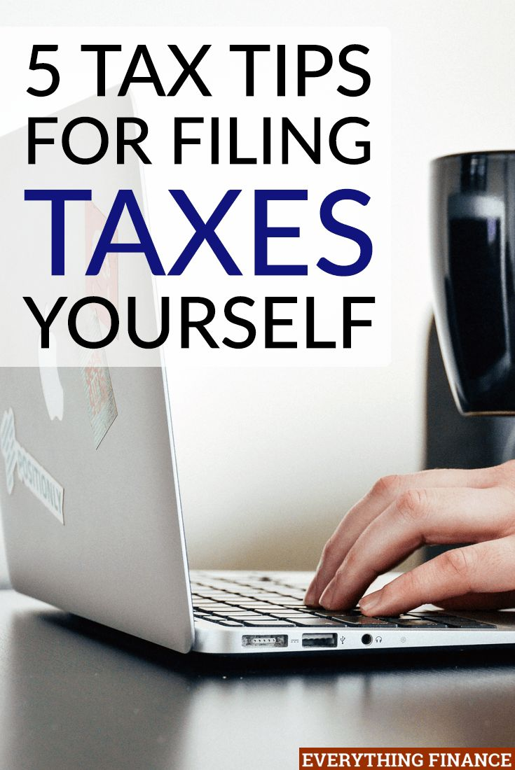 37 best tax tips images on pinterest money tips personal 5 top tax tips for filing taxes yourself ccuart Choice Image