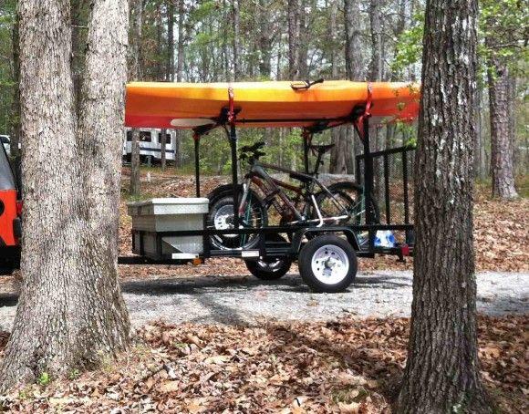 Bike and Build Your Own Kayak Trailer   Kayak Trailer 13