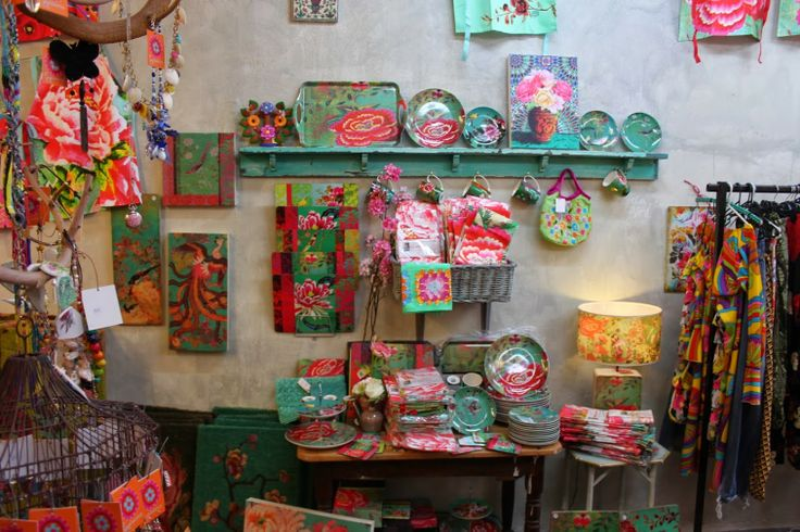 Check out the green peony range of homewares