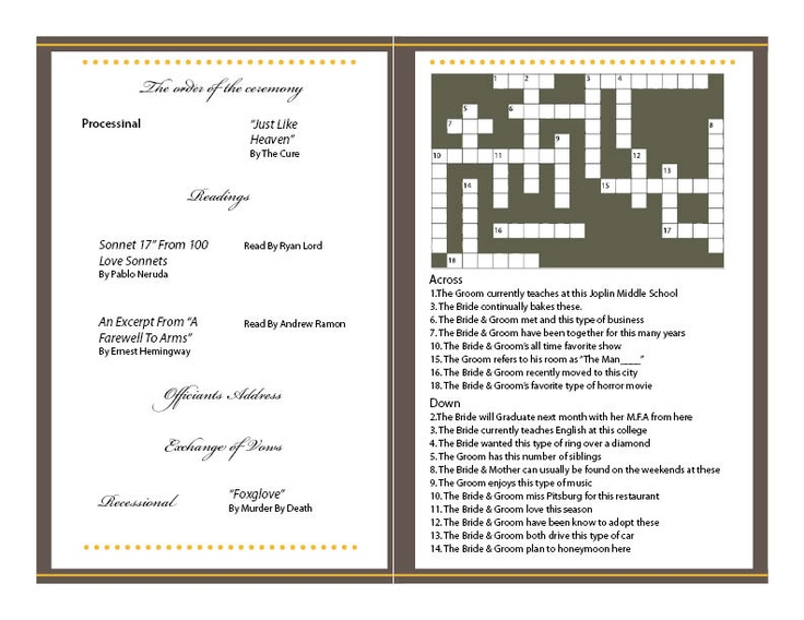 7 best wedding invitation design images on pinterest wedding wedding programs design stopboris Images