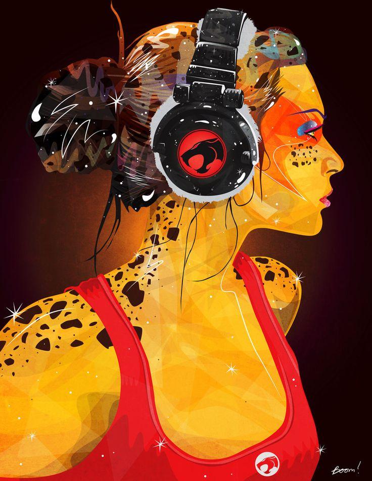 Cheetara - Illustrator by oasota
