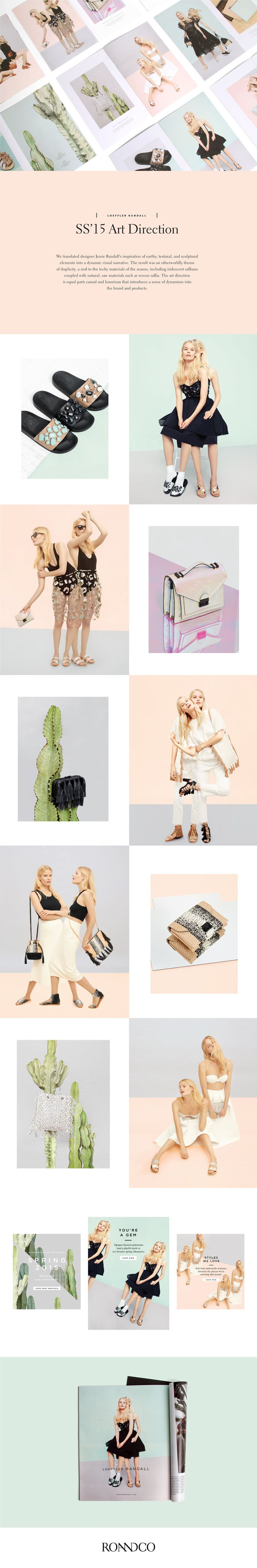 Loeffler Randall SS '15 Art Direction on Behance