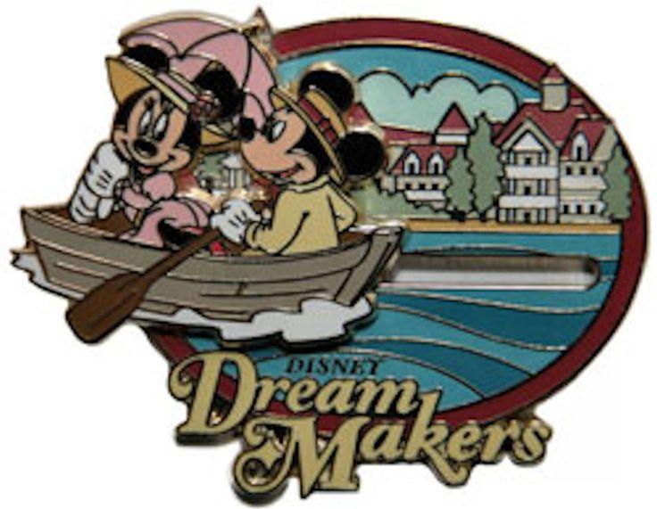 Disney pin MICKEY & MINNIE GRAND FLORIDIAN  Slider Cast Member Dream Maker