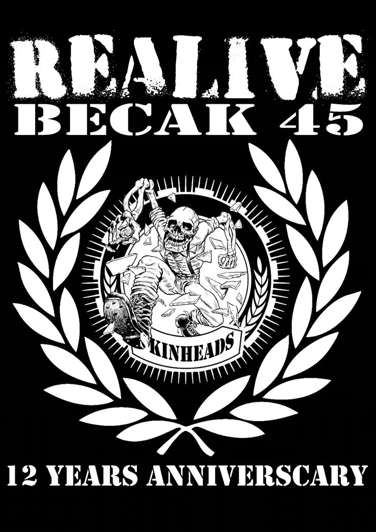 Becak 45 Oi! Band from salatiga, Central Java, Indonesia