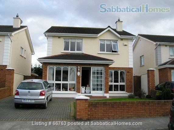 SabbaticalHomes - Home for Rent or Home Exchange / House Swap Celbridge Ireland, Lovely 4 bedroom detached home