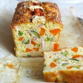 Chec aperitiv cu sunca mazare morcov