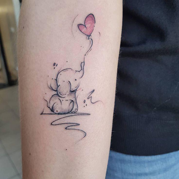 lefantino #inkstinctsubmission #tattooersubmission #tattoodo #tattooer #tattoo #tattooartis… | Tatuaggi elefante, Tatuaggi disney piccoli, Tatuaggi piccoli caviglia
