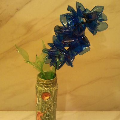 Make a Hyacinth Flower from a Plastic Bottle