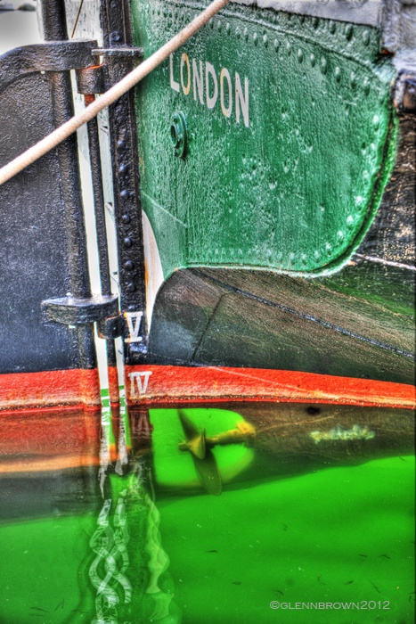 London Barge waterfront ipswich