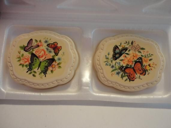 Avon Butterflies Scented Hostess Soaps Avon Collectible Butterflies Soaps Vintage Avon Butterflies Soap Vintage Butterflies Soap Set Avon Collectibles Vintage Butterfly Vintage Avon