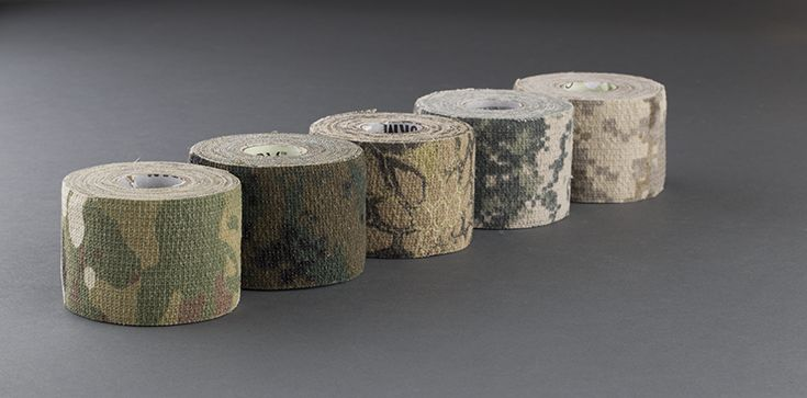Blend! Be invisible with Mcnett Camo Wraps now available at DirtyWorks.com #camoform #blend #paintball #McNett #DirtyWorks