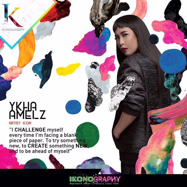 Ykha Amelz Artist Icon  Ikonography 2016