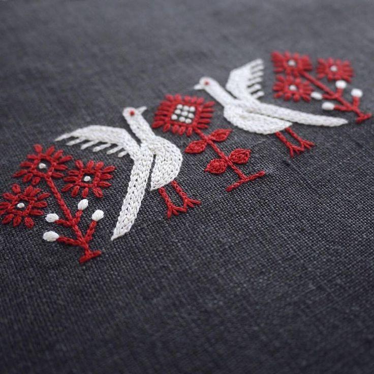 Embroidery - Yumiko Higuchi - Autumn Birds