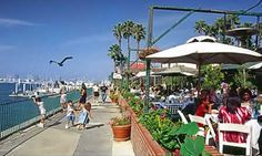 Marina Del Rey - Fisherman's Village. The first time I was there, I thought I died and went to heaven!  WATER, SHOPPING & EATING!