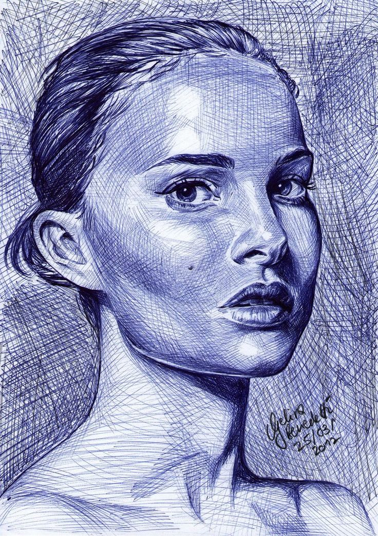 ballpoint pen art black - photo #45