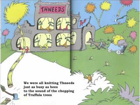 The Lorax (ebook) and The Great Kapok Tree (Lynne Cherry)...great for making text to text connections.