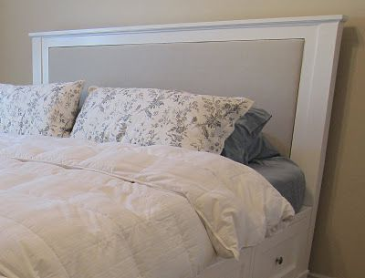 do it yourself divas: DIY : King Size Bed Frame Part 4 - Headboard and Finished Product
