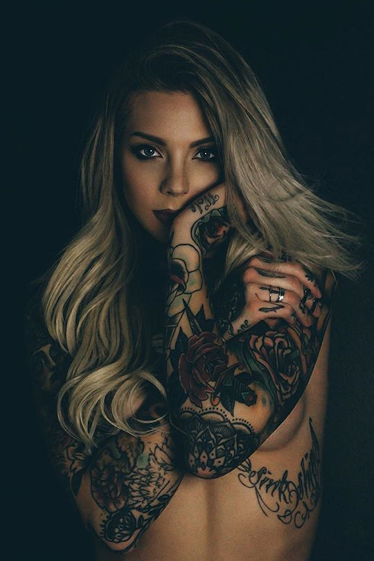 607 best images about tattoos on pinterest for Sexy naked tattoo girls