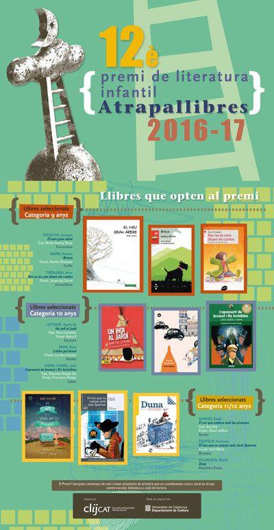 Lectures infantils recomanades pel PREMI ATRAPALLIBRES del CLIJcat