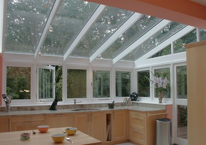 but with side windows finishing higher up... 014 Conservatory kitchen extension in Hampstead, North West London