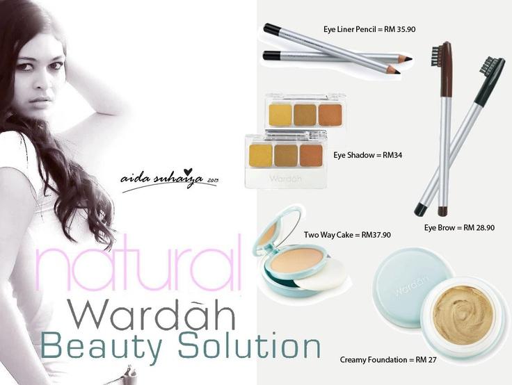 Aida Suhaiza using Wardah Cosmetic  https://www.facebook.com/WardahSkincareCosmeticInspiringTouchFaezah