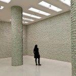 First Look: Hans-Peter Feldmann Hangs $100,000 in Dollar Bills on the Walls of the Guggenheim Museum