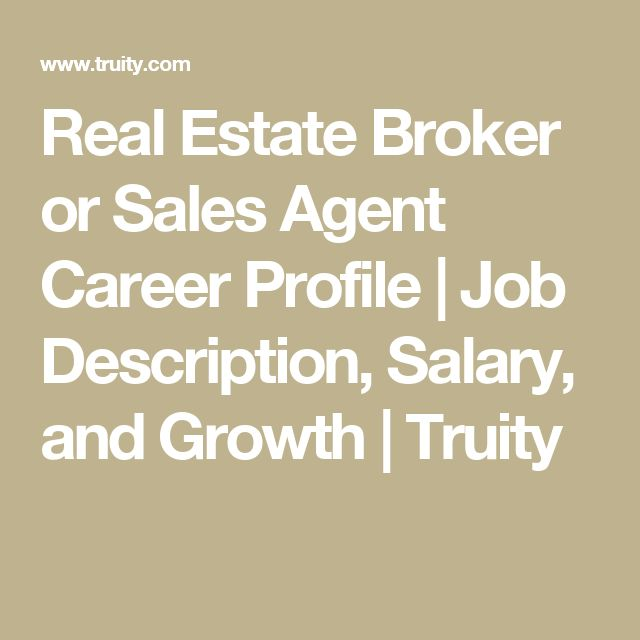 Best 25+ Real estate broker salary ideas on Pinterest Real - purchasing agent job descriptions