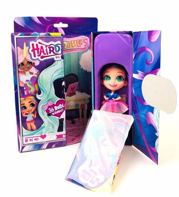 Collectible Dolls With Surprises NIB Series 1 Hairdorables