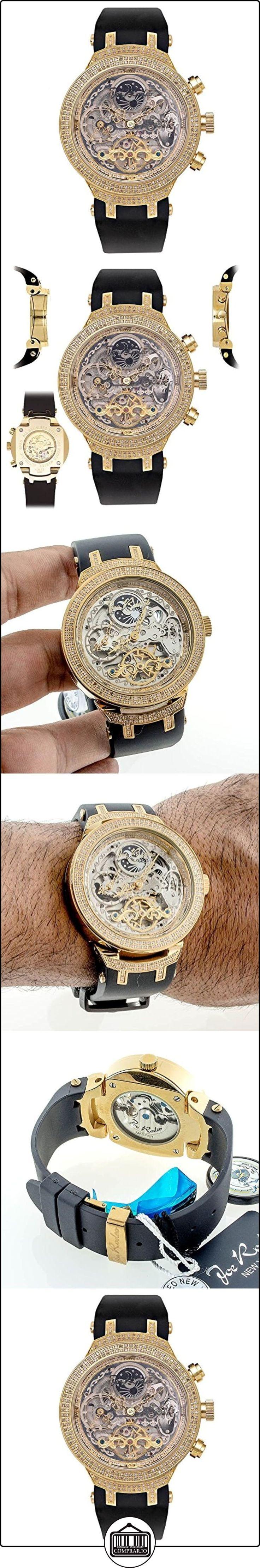 JOE RODEO Diamond Reloj para hombre-Master Oro 2.2quilates de  ✿ Relojes para hombre - (Lujo) ✿