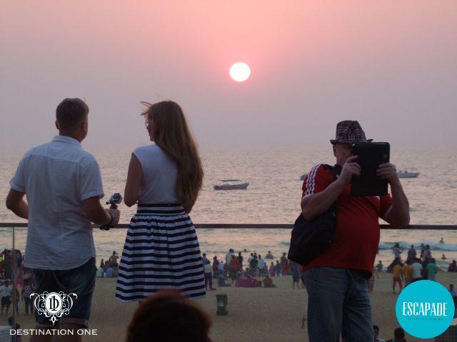 Chase the sunset together #DestinationOneGoa #GoaCalling