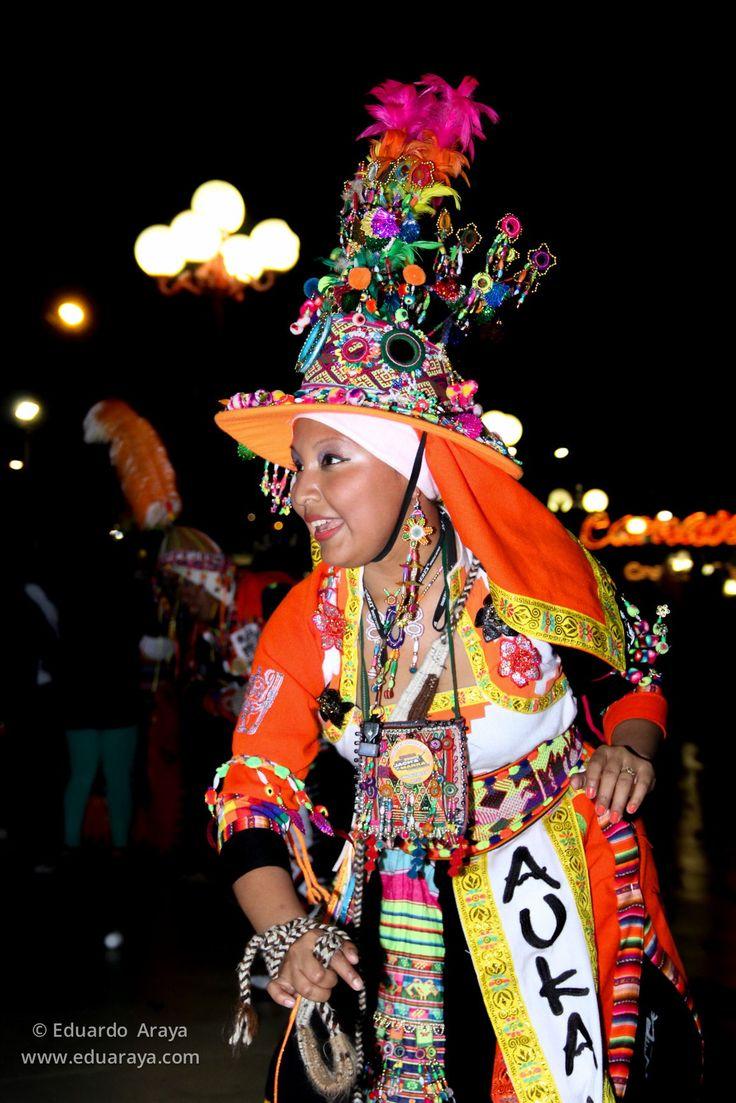 Carnaval andino de Arica, Chile.