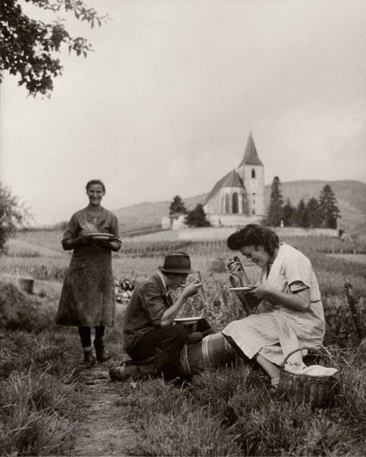 Village de Hunawihr Alsace - Photo Robert Doisneau