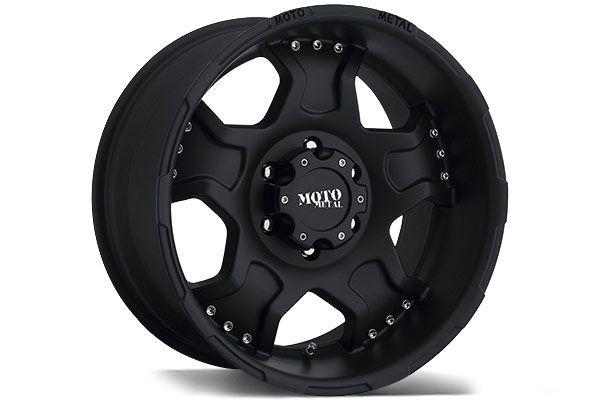 Moto Metal Wheels MO957 - Best Price on Moto Metal MO957 Matte Black Rims for Trucks