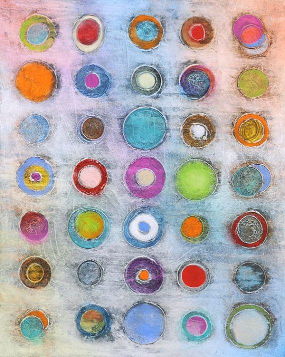 Originale arte astratta pittura 24 x 30 arte di AbstractBrush