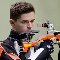 2016 Rio Olympics - Airgun Qualification for Filip Nepejchal of the Czech Republic
