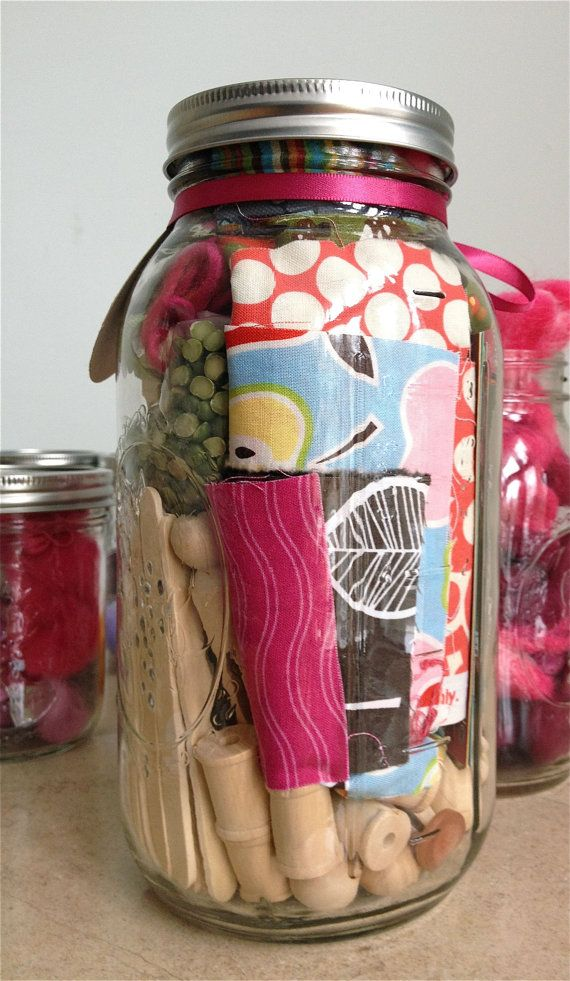 Make Good Art Jars....for your littles:)