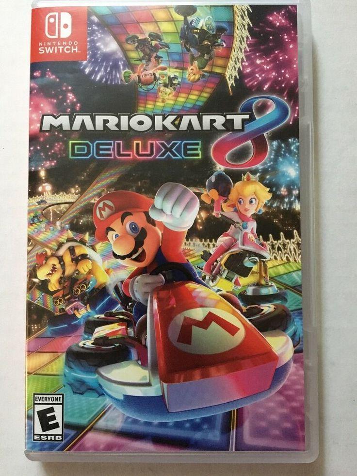 Mario Kart 8 Deluxe (Nintendo Switch. 2017) | Mario kart 8. Mario kart. Switch video