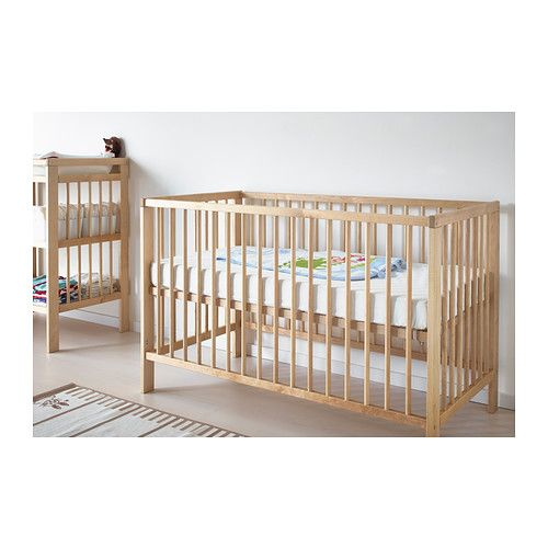 gulliver crib ikea we got it i love the natural birch and - Ikea Table A Langer Sur Le Lit